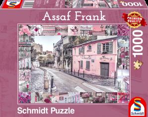 Schmidt Romantische reis, 1000 stukjes