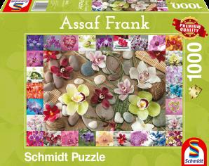 Schmidt Orchideeën, 1000 stukjes