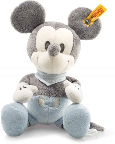 Steiff Mickey Mouse with squeaker and rustling foil