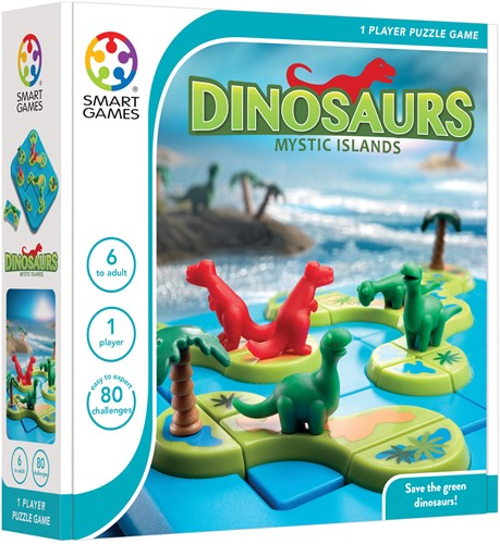 SmartGames Dinosaurs Mysterious Islands