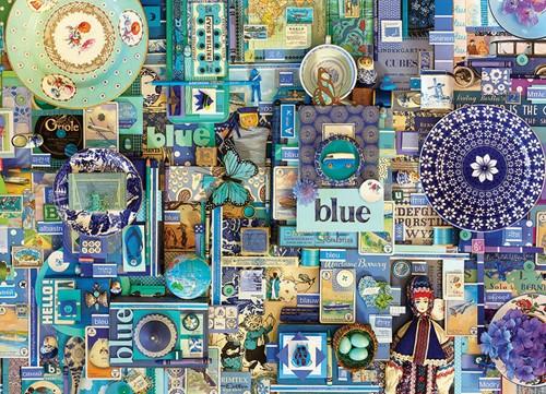 Cobble Hill puzzle 1000 pieces - Blue