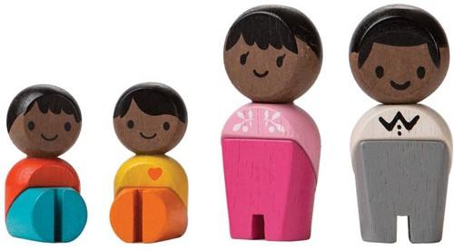 Plan toys Afro Familie