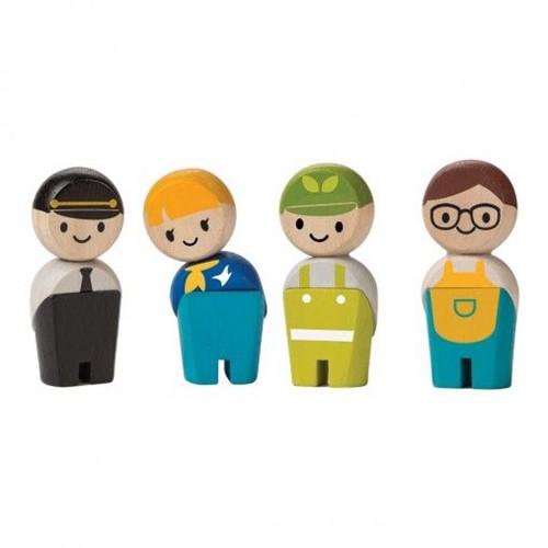 Plan Toys Service Crew