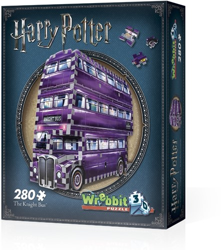 Wrebbit 3D Puzzle - Harry Potter The Knight Bus (280)
