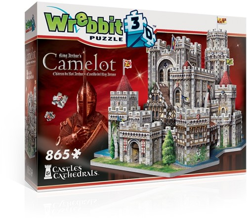 Wrebbit 3D Puzzle - King Arthur's Camelot (865)