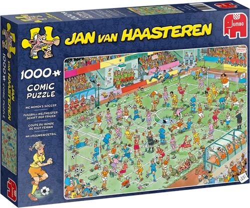 Jan van Haasteren WC Women's Soccer 1000 pieces