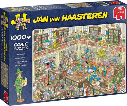 Jan van Haasteren The Library 1000 pieces