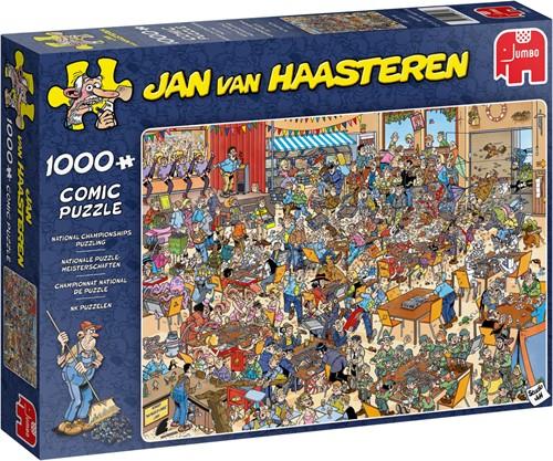 Jan van Haasteren National Championships Puzzling 1000 pieces