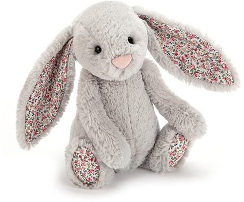 Jellycat knuffel Blossom Silver Bunny Baby 13cm