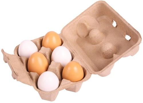 Bigjigs Pack of 6 Eggs