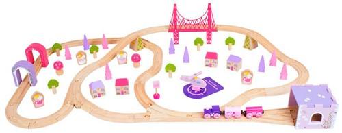 Bigjigs Fairy Town Train Set