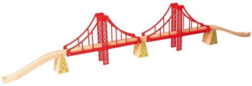 Bigjigs Double Suspension Bridge