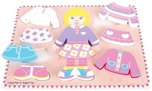 Bigjigs Dressing Girl Puzzle