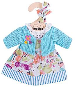 Bigjigs Turquoise Cardigan and Dress - Small