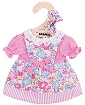 Bigjigs Pink Floral Dress - Small