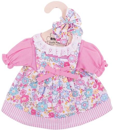Bigjigs Pink Floral Dress - Medium