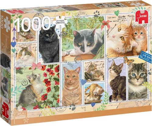 Premium Collection Francien van Westering, Cat Stamps 1000 pieces