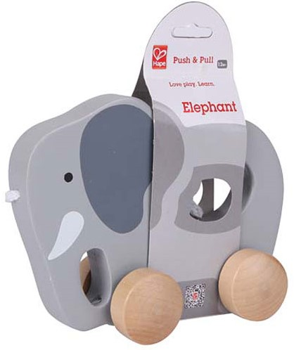 Hape Push & Pull Elephant