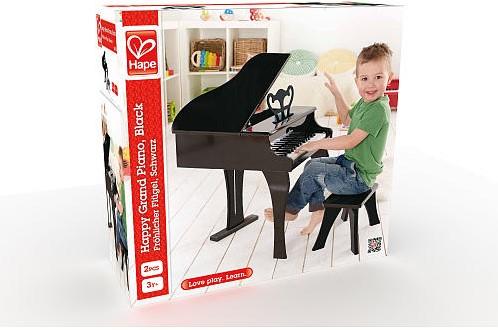 Hape Happy Grand Piano, Black