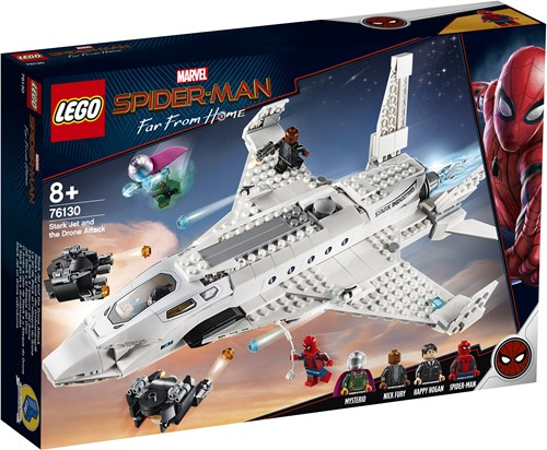 LEGO Marvel Super Heroes Stark Jet and the Drone Attack - 76130