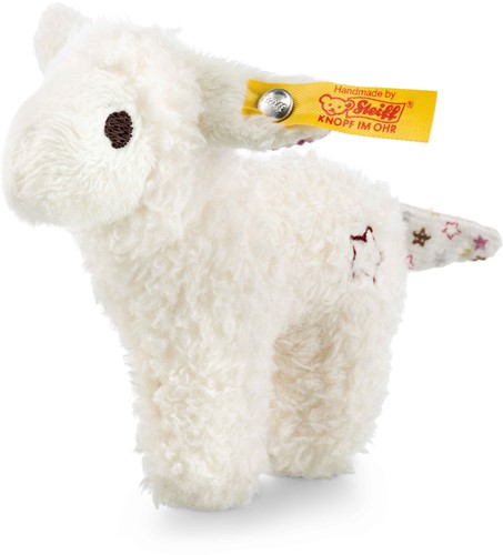 Steiff Mini lamb with rustling foil and rattle