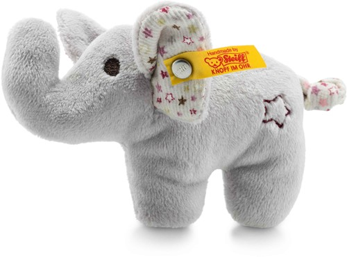 Steiff Mini elephant with rustling foil and rattle