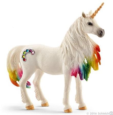 Schleich Rainbow unicorn, mare