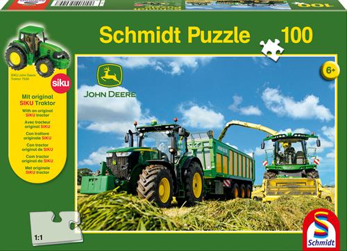 Schmidt Tractor 7310R met 8600i hakselaar, 100 stukjes