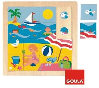 Goula Puzzle Summer Tile puzzle