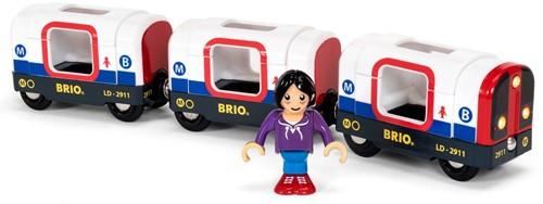 BRIO Tube Metro Train (3 Wagons)