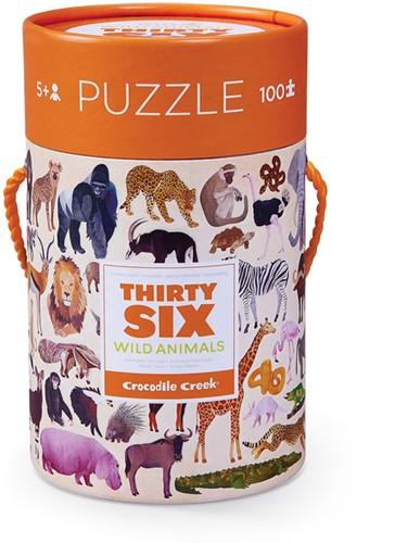 Crocodile Creek 4054-2 puzzle Jigsaw puzzle 100 pc(s)