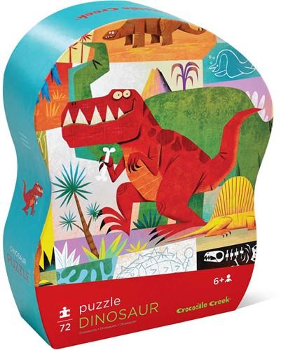 Crocodile Creek 72 pcs Puzzle/Dinosaur