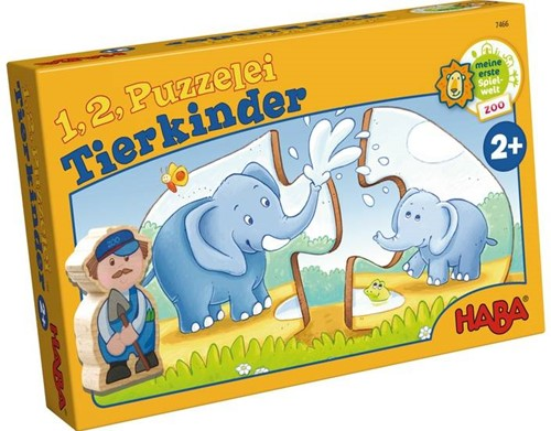 HABA One,Two, Puzzle-to-do - Animal Kids