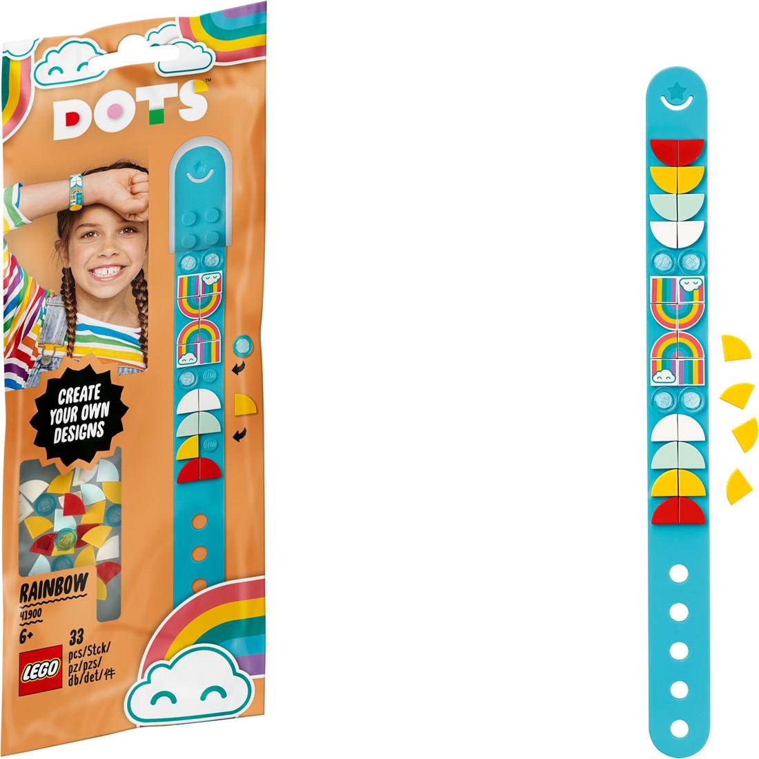 41900-LEGO DOTS Rainbow Bracelet