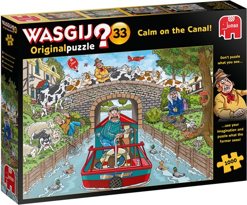 Wasgij Original 33 1000 pieces
