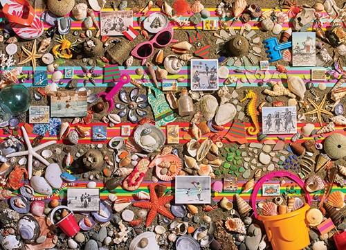Cobble Hill puzzle 1000 pieces - Beach Scene
