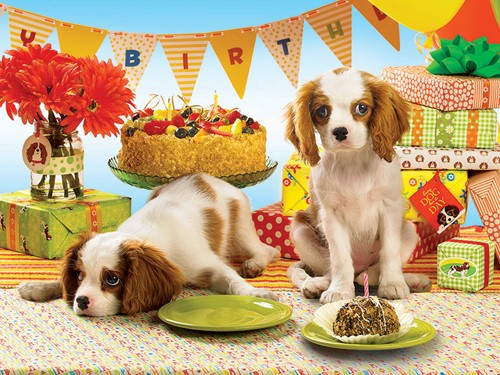 Cobble Hill puzzle 1000 pieces - Every dog has its Day - till end of stock