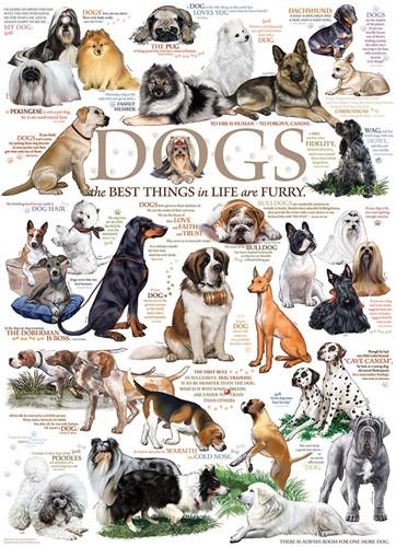 Cobble Hill puzzle 1000 pieces - Dog Quotes