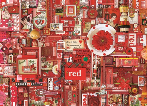 Cobble Hill puzzle 1000 pieces - Red