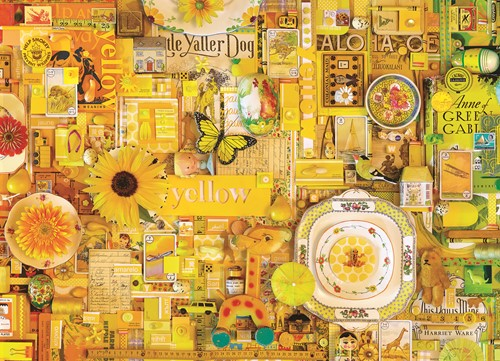 Cobble Hill puzzle 1000 pieces - Yellow