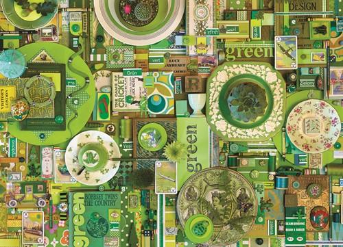 Cobble Hill puzzle 1000 pieces - Green