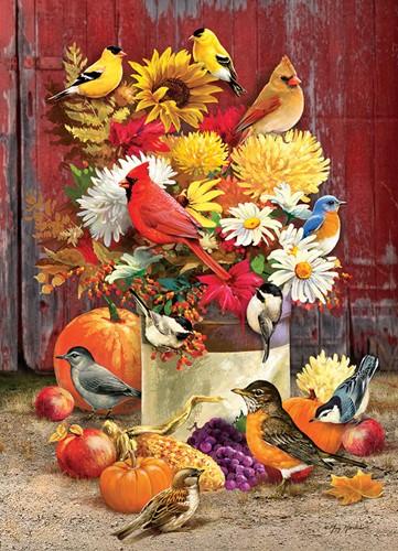 Cobble Hill puzzle 1000 pieces - Autumn Bouquet