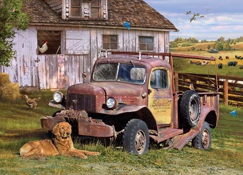 Cobble Hill puzzle 1000 pieces - Summer Truck