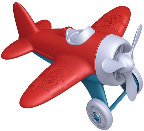 Green Toys Airplane - RED WINGS