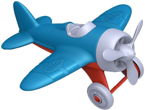 Green Toys Airplane - BLUE WINGS