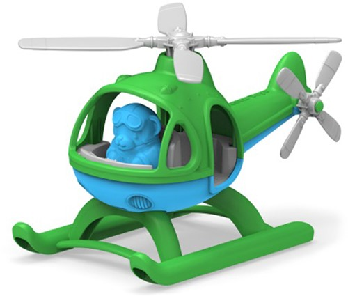 Green Toys Helicopter - GREEN TOP