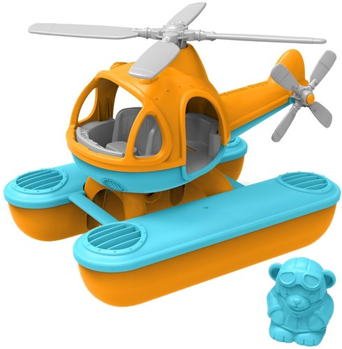 Green Toys Seacopter - ORANGE TOP