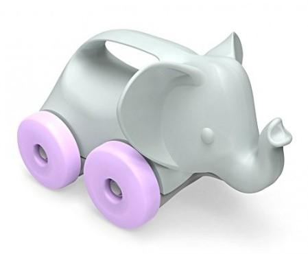 Green Toys Elephant on Wheels