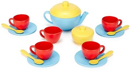 Green Toys Tea Set - BLUE TEAPOT