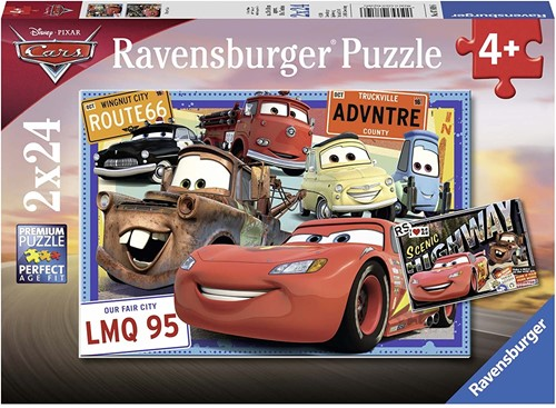 Ravensburger Cars, Disney Cars Jigsaw puzzle 24 pc(s)